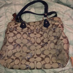 Coach Bags - Coach Tote (Poppy Collection) AUTHENTIC